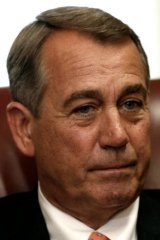 """Republican Speaker of the House John Boehner: """"It's not like we haven't seen this problem coming for over a year. They're 100 miles from Baghdad, and what's the president doing? Taking a nap."""""""