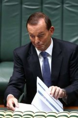 """""""The stress that I want to keep on everything is we will keep our commitments."""" Prime Minister Tony Abbott."""