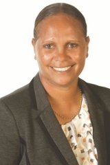 Larisa Lee, who has left the Country Liberal Party to join the Palmer United Party.