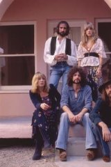 Hits and splits ... Fleetwood Mac's Rumours-era line-up, clockwise from top left, John McVie, Stevie Nicks,  Mick Fleetwood,  Lindsey Buckingham and Christine McVie, take time out from the feuding. Photo: Sam Emerson