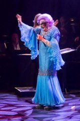 Dame Edna comes out of retirement (again) to steal the show on the opening night of the Adelaide Cabaret Festival.