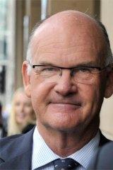 Shamed former magistrate Simon Cooper.
