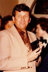 Dennis McKenna at a Deb Ball in Katanning in July 1983.