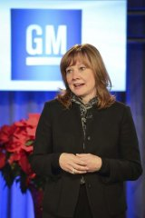 Huge job: General Motors' new chief executive, Mary Barra.