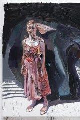 Ben Quilty, The Pink Dress, 2016, oil on linen, 265 x 202cm.