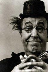 Comedian Ed Wynn.