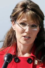 Sarah Palin announces that she is stepping down from her position as Governor.