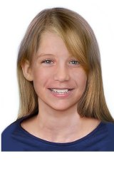 An aged-progressed image of Isabella Watter who, with twin sister, Bronte, went missing from Townsville in 2014. They would now be aged 10 and are believed to be with their mother.