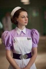 Jessica Raine as Nurse Jenny in <i>Call the Midwife</i>.