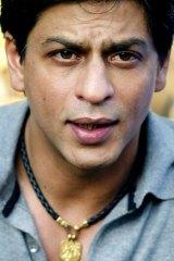 Airport bugbear ... Bollywood star Shah Rukh Khan