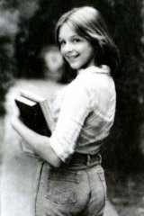 """""""I was a kid, barely developed"""" … a modelling shot of Samantha Giemer, aged 13."""
