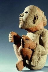 """Stone killer: Aztec deity Xipe Totec (""""the flayed one""""), to whom human sacrifices were made."""