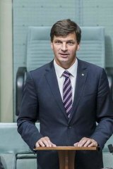 New Hume Liberal MP Angus Taylor makes his maiden speech in parliament. Mr Taylor donated more than $150,000 to his party, more than any other MP.