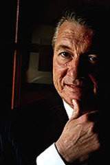 Stepping out of the shadows...John Della Bosca says he should be given another chance