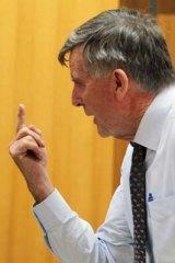 Bill Heffernan ... history of outbursts.