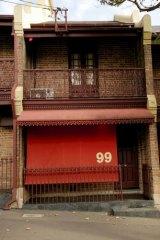 Tiffany's brothel in Albion Street, Surry Hills, Sydney.