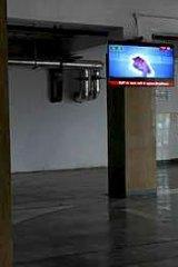 Work in progress: The main lobby of the Rajiv Gandhi.