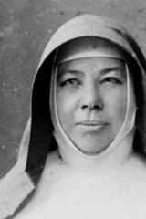 Mary MacKillop, the nation's first saint.