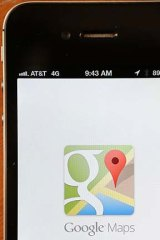 A maps app Google released in December has been the most downloaded program for the iPhone for much of the last month.