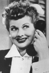 Lucille Ball in <i>I Love Lucy</i>.