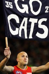 Gary Ablett hopes his old team wins its third flag in five years. <i>DIGITALLY ALTERED IMAGE</i>