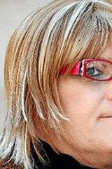 'Attacked' ... Donna Macklan.