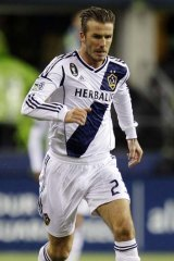 Home is where the heart is: David Beckham.