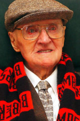 Jack Ross turns 110 today.