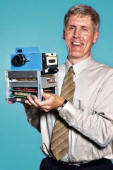 Steven Sasson, the Kodak employee who invented the digital camera in 1975.