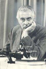 Gough Whitlam in 1974.