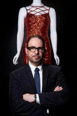 Nicholas Inglis, curator of the QPAC exhibition 'All Dressed Up.'