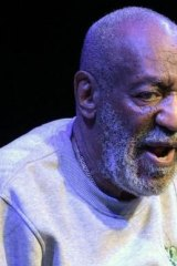 The butt of jokes: Bill Cosby.