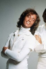 Stayin' Alive ... Robin Gibb pictured with his brothers Barry and Maurice in their disco heyday, when the Bee Gees were the biggest act in the world.