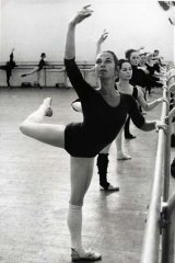 Marilyn Jones in 1971 as the Australian Dance Company's prima ballerina.