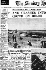 How the Sydney Morning Herald covered the crash.