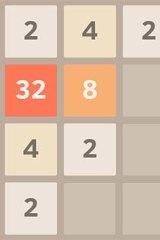 Addictive: A screenshot of 2048.