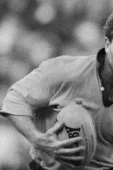 Greg Martin during his playing days.
