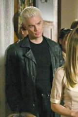 What nobody else could give her: <i>Buffy The Vampire Slayer's</i> Spike (James Masters) stood up to Buffy (Sarah Michelle Geller) in a world where she was unbeatable.