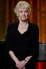 Elaine Stritch on stage at a White House Music Series event in 2010.