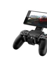 A PlayStation controller can be hooked up to Sony's new smartphones, to stream output directly from a PS4.