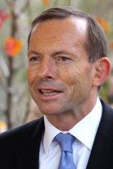 Million job man: Prime Minister Tony Abbott.