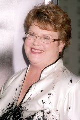Author Charlaine Harris.