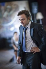 Anger management...Matthew Newton plays the negotiator Jack Manning in <em>Face to Face</em>.