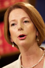 Prime Minister Julia Gillard distributes some of the energy price hikes blame to the states.