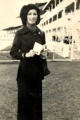 Murdered in Hollywood in 1974, aged just 24  ... Patricia Galea at the Randwick autumn carnival in 1972.
