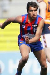 Jay Kennedy-Harris playing for Oakleigh.
