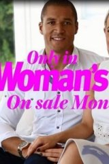 Tell-all: Blake Garvey and Louise Pillidge on the cover of <i>Woman's Day</i>.
