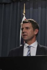 """""""There are some measures in there that I think will really excite NSW"""": Mike Baird."""