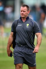 Making things happen: Cricket Australia's team performance chief Pat Howard.