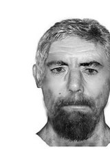 The image of the man police were looking for.